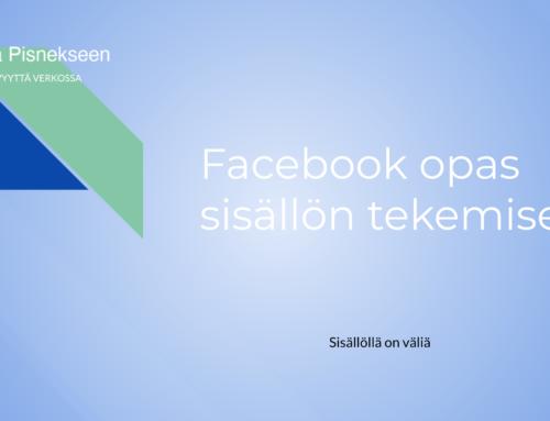 Facebook opas